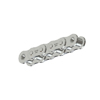 40NPHMR100 Nickel Plate Roller Chain 40 Riveted NP 100 Foot Reel 1/2 inch pitch