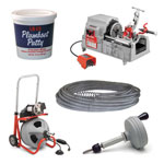 Plumbing and Inspection Tools