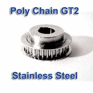 Gates Ss 8mx 32s 21 Mpb Poly Chain Gt2 Stainless Steel