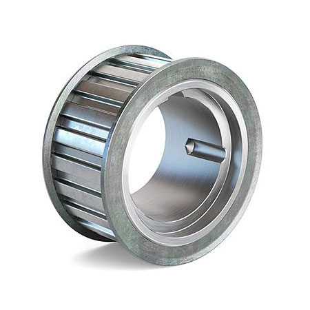 21 Groove 2//25 Pitch 3//16 to 3//16 Bore Range Gates PB21MXL025 PowerGrip Aluminum Timing Pulley for 1//8 3//16 and 1//4 Width Belt 0.535 Pitch Diameter