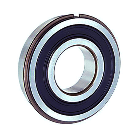 6200-2RSNR Sealed Snap Ring 10mm x 30mm x 9mm Ball Bearings 10mm Bore New