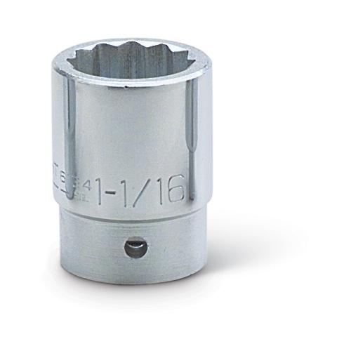 """Proto J5570 3//4/"""" Drive 12 Point 2-3//16/"""" Standard Socket"""