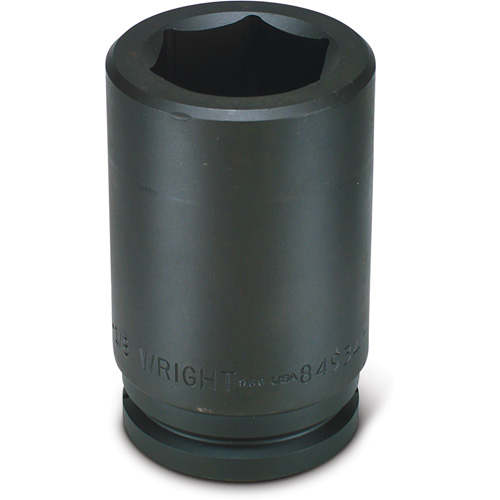 Wright Tool 84930 1-7//8-Inch 6 Point Deep Impact Socket with 1-1//2-Inch Drive